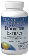 PLANETARY HERBALS: FS ELDERBERRY EXT 525MG 42T + 42T BNS