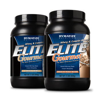 Dymatize: Elite gourmet strawberry 2 LB