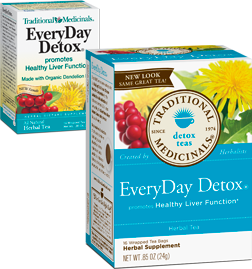Traditional medicinals teas: Everyday detox tea 16 bags