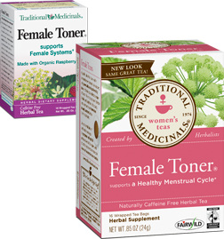 Female toner tea
