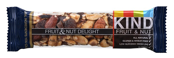 Are kind fruit and nut bars healthy