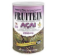 Natures Plus: Fruitein Acai Shake 1.2 lb