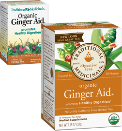 TRADITIONAL MEDICINALS TEAS: Ginger Aid Tea 16 bags