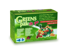 Trace Minerals Research: Greens Pak To Go 30 paks