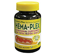Natures Plus: Hema-Plex - Nutritional Support for the Blood 60 Vcaps