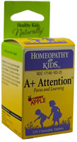HERBS FOR KIDS: A+  Attention 125 tabs