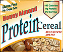 KAY'S NATURALS: PROTEIN CEREAL HNY ALM 1oz 12CS