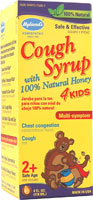 HYLANDS: Cough Syrup With Honey 4 Kids 4 oz