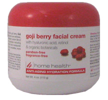 HOME HEALTH: Goji Berry Facial Cream 4 oz