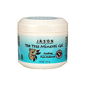 JASON NATURAL PRODUCTS: Tea Tree Therapeutic Mineral Gel - Cooling 8 fl oz
