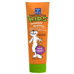 KISS MY FACE: Berry Treasure Without Flouride Toothpaste 4 oz
