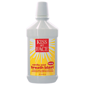 KISS MY FACE: Vanilla Mint Breath Blast 16 oz