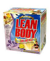 LABRADA BODYBUILDING NUTRITION: LEAN BODY BREAKFAST BLUBRY 20 20 BOX