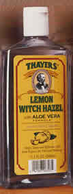 Thayers: Witch hazel with aloe vera lemon 11.5 fl oz