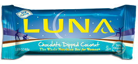 CLIF BAR INC: LUNA BAR CHOCOLATE COCONUT 15 BOX