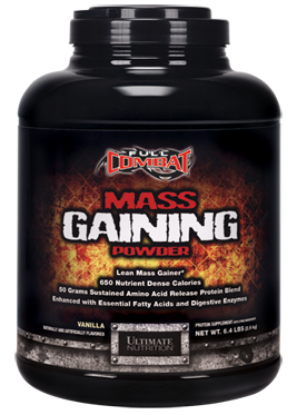 ULTIMATE NUTRITION: FULL COMBAT MASS GAINER STRAWBERRY 6.4 LB