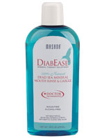 MASADA HEALTH AND BEAUTY: DiabEase Natural Dead Sea Mineral Mouth Rinse and Gargle 16 oz