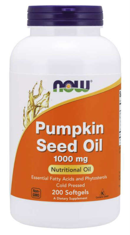 NOW: Pumpkin Seed Oil 1000mg 200 Softgels