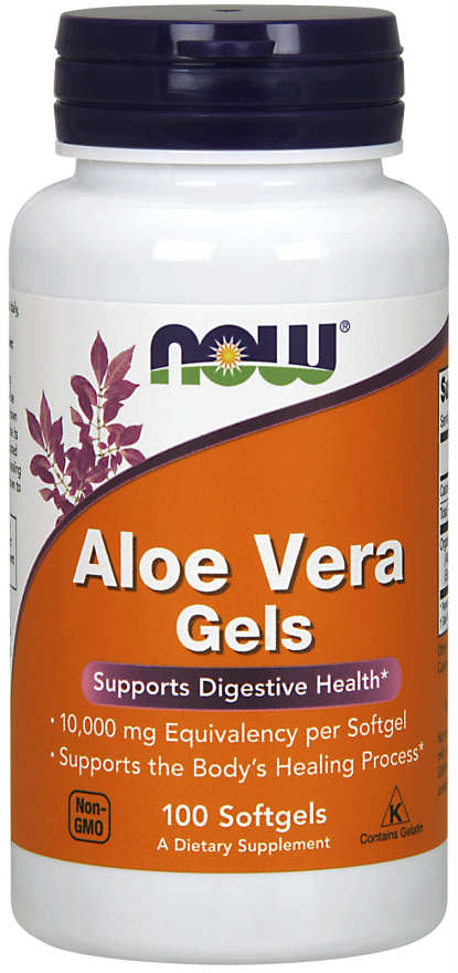 NOW: Aloe Vera Gels 250 Softgels