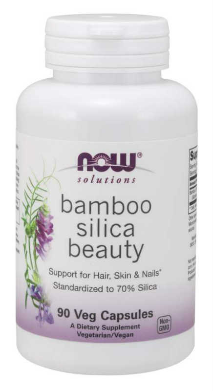 NOW: Bamboo Silica Beauty 90 Veg Caps