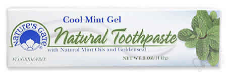 NATURE'S GATE: Toothpaste Cool Mint Gel 5 oz
