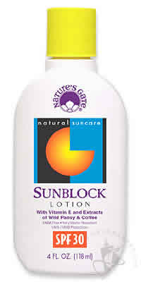 NATURE'S GATE: Sun Care Lotion SPF30 4 oz
