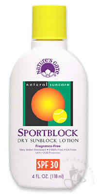 NATURE'S GATE: Sun Care Sport SPF30 4 oz