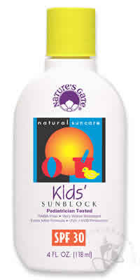 NATURE'S GATE: Sun Care Kids' SPF30 4 oz