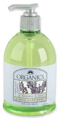 NATURE'S GATE: Organic Liquid Soap Lavender & Aloe 12 fl oz