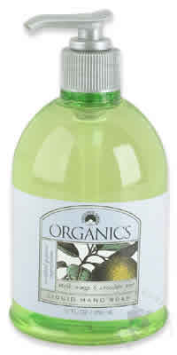 NATURE'S GATE: Organic Liquid Soap Neroli Orange & Chocolate Mint 12 fl oz