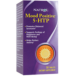 Mood Positive 5HTP, 50 tabs