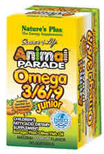Natures Plus: Animal Parade Omega 3  6  9 Junior Softgels 90 softgels