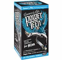 Natures Plus: Power Teen for Him 60ct