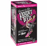 Natures Plus: Power Teen for Her 60ct