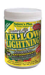 Natures Plus: Source of Life Yellow Lightning Antioxidant Energy Drink 0.4 lb. (180g) Jars