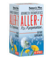 Natures plus: Aller-7 rx-respiration 60 60 ct