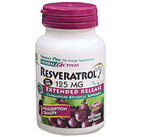 Herbal Actives E  R Reservatrol 125 mg, 60 Tablets