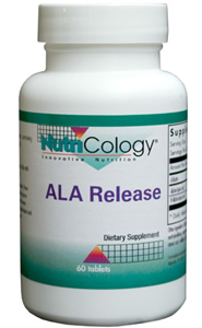 NUTRICOLOGY/ALLERGY RESEARCH GROUP: ALA Release 60 tabs