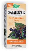 NATURE'S WAY: Sambucus Sugar Free Syrup 8 fl oz