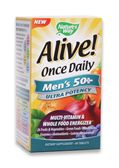 Alive Once Daily Mens 50 Plus Ultra, 60 tabs