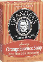 Orange essence fancy soap