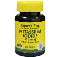 Natures Plus: POTASSIUM IODIDE 150 MCG TABLETS 100