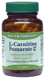 Phyto therapy: L-Carnitine Fumarate 60 caps