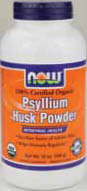 NOW: Psyllium Husk Whole Organic 12 oz