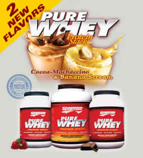 CHAMPION NUTRITION: Pure Whey Protein Stack Chocolate 2.2 lb