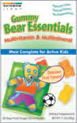 RAINBOW LIGHT: Gummy Bear Essential Vitamins 30 packet