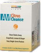 RAINBOW LIGHT: AM Citrus Cleanse 14 pkts
