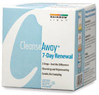 RAINBOW LIGHT: Cleanse Away 7 Day Renewal Kit 3.8 oz