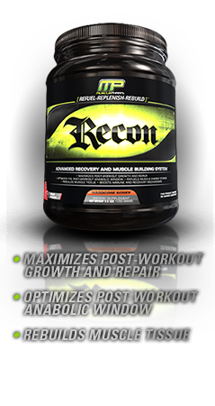 MUSCLE PHARM: RECON FRUIT PUNCH 2.64LB 1