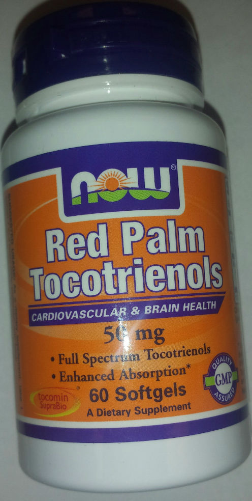 NOW: RED PALM TOCOTRIENOLS 50 MG 60 Softgels